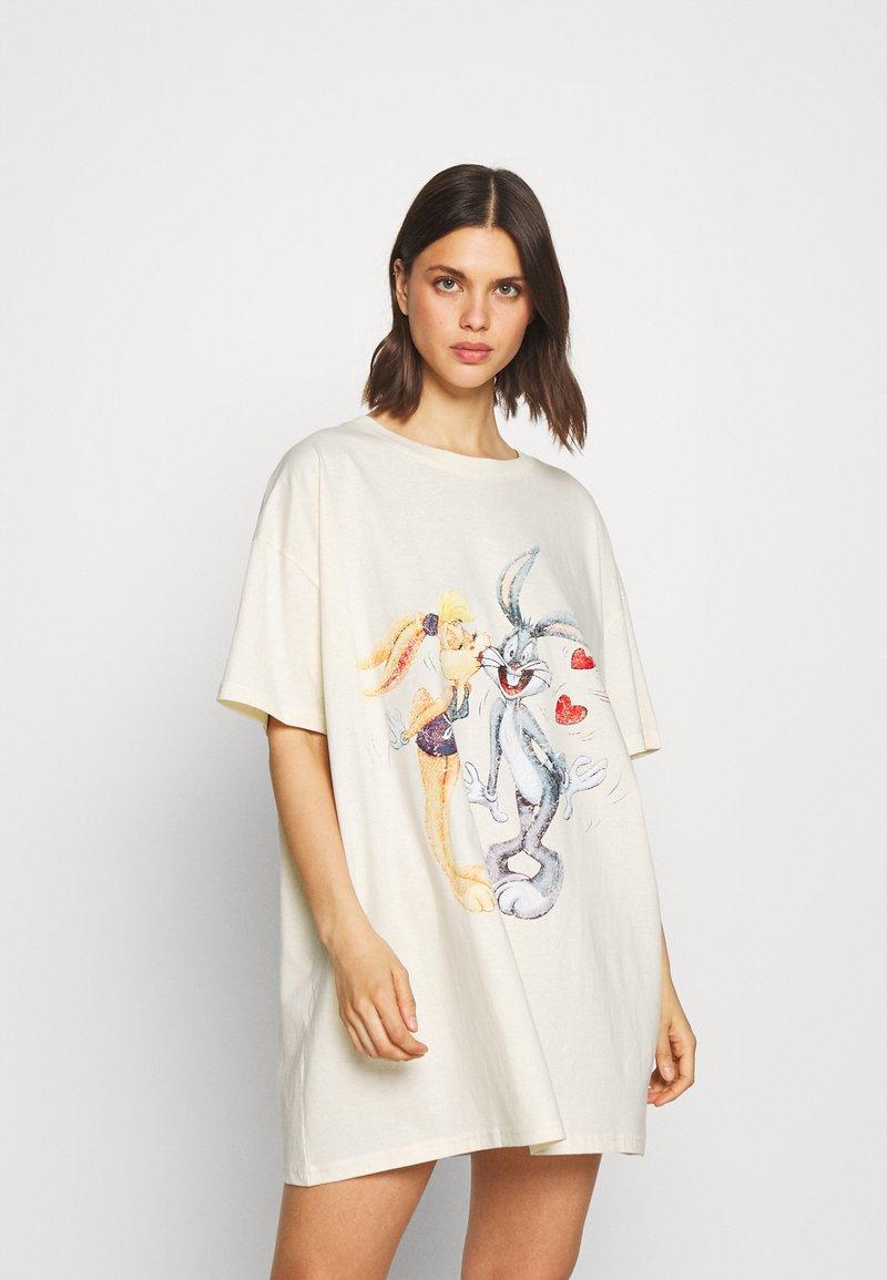 Cotton On Body - 90'S TSHIRT NIGHTIE - Koszula nocna - white