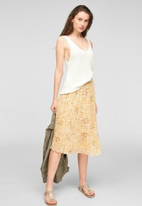 s.Oliver - Top - offwhite - 1