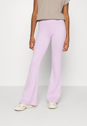 ONLFEVER NEW FLARED PANTS - Trousers - orchid bloom