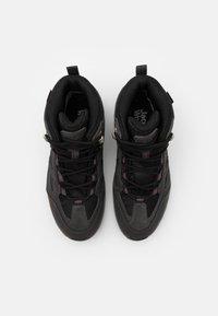 Jack Wolfskin - VOJO 3 TEXAPORE MID - Hiking shoes - dark steel/purple - 3