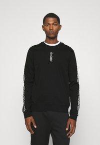 HUGO - DOBY - Long sleeved top - black - 0