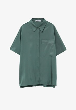 MARITA - Button-down blouse - groen