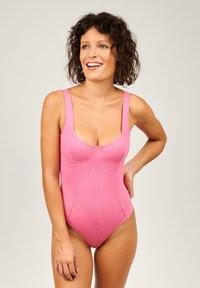 Girls in Paris - WIRELESS BODYSUIT LANA - Body - pink - 0