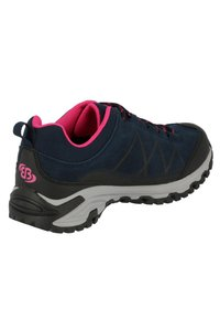 Brütting - Hiking shoes - dark blue/light pink - 3