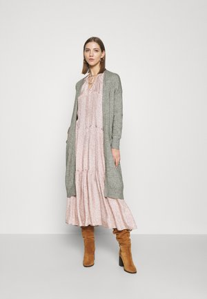 ONLTIGGI LONG CARDIGAN - Kardigan - medium grey melange