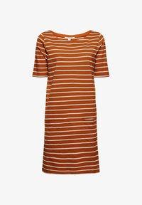 Esprit - FASHION  - Jersey dress - caramel - 4