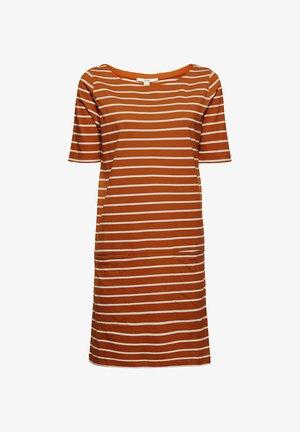 FASHION  - Jersey dress - caramel