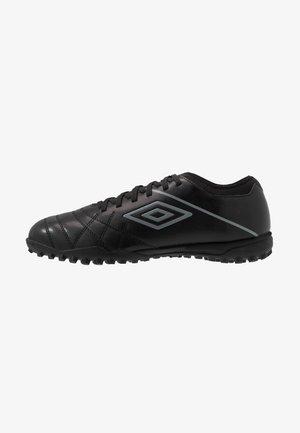 MEDUSÆ III CLUB TF - Scarpe da calcetto con tacchetti - black/carbon