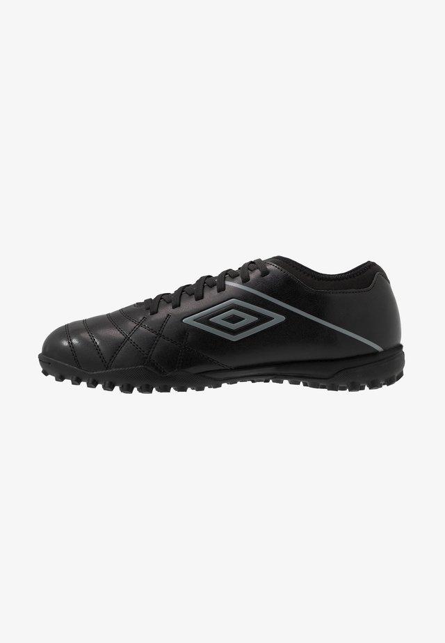 MEDUSÆ III CLUB TF - Fotballsko for kunstgress - black/carbon