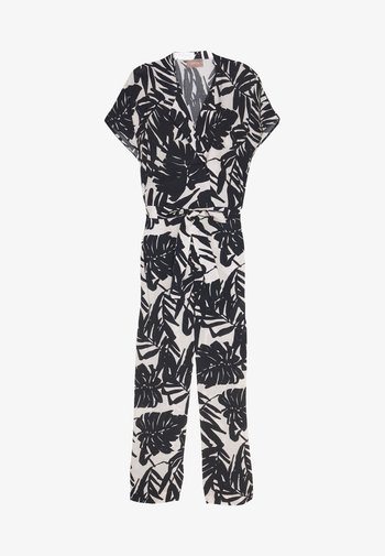 OVERALL - Jumpsuit - white/grey