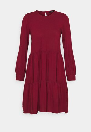 VMNADS GIRLIE DRESS - Day dress - cabernet