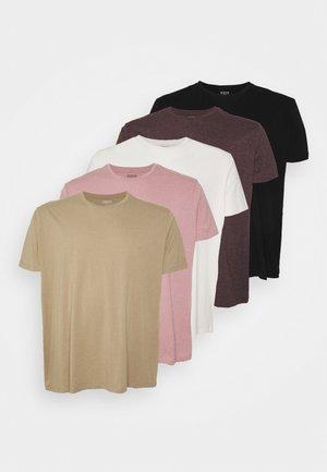 5 PACK - Basic T-shirt - multi