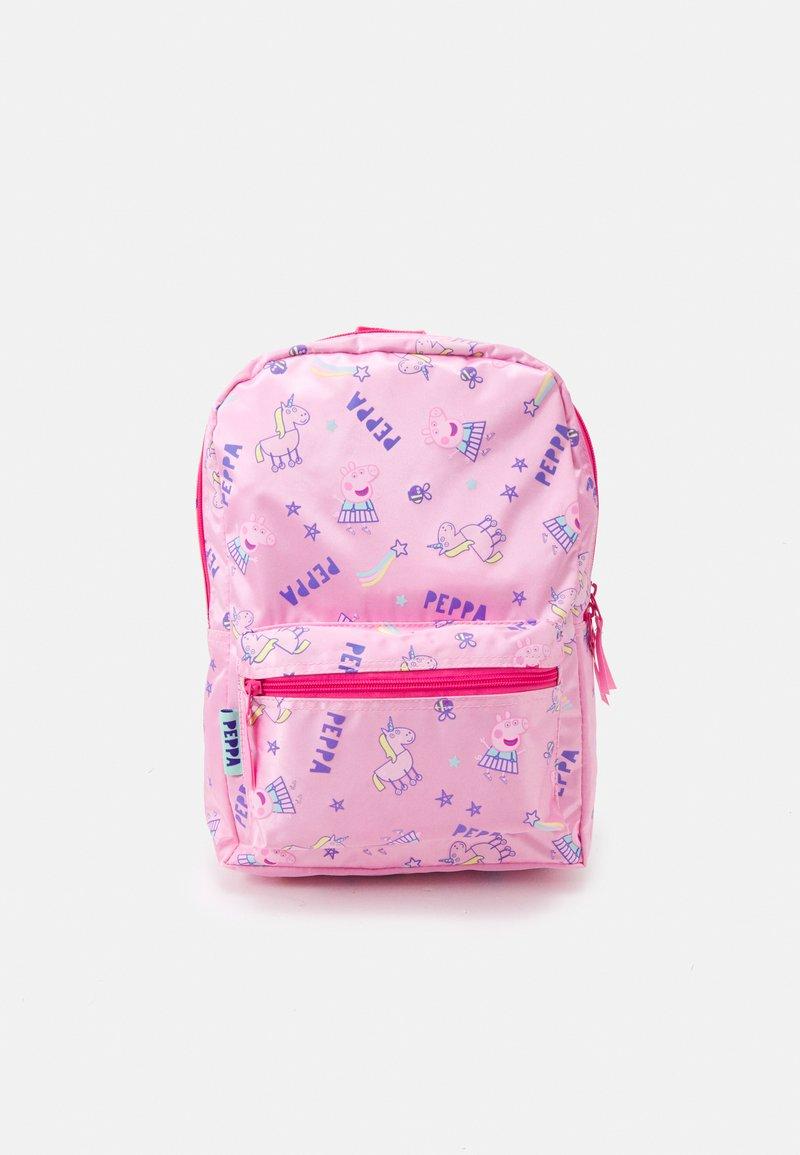 Kidzroom - BACKPACK PEPPA PIG FAVORITE THINGS UNISEX - Rucksack - pink