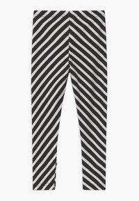 Papu - STRIPE UNISEX - Legíny - black/sand - 1