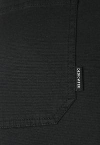 Dedicated - PANTS WORKWEAR VARA - Trousers - black - 2