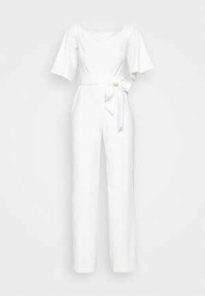 LUXE TECH - Jumpsuit - cream