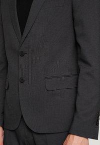 Antony Morato - SLIM JACKET BONNIE PANTS  - Kostym - black - 9