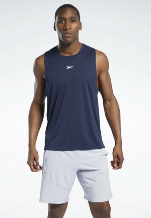 LES MILLS® KNIT TANK TOP - Top - blue