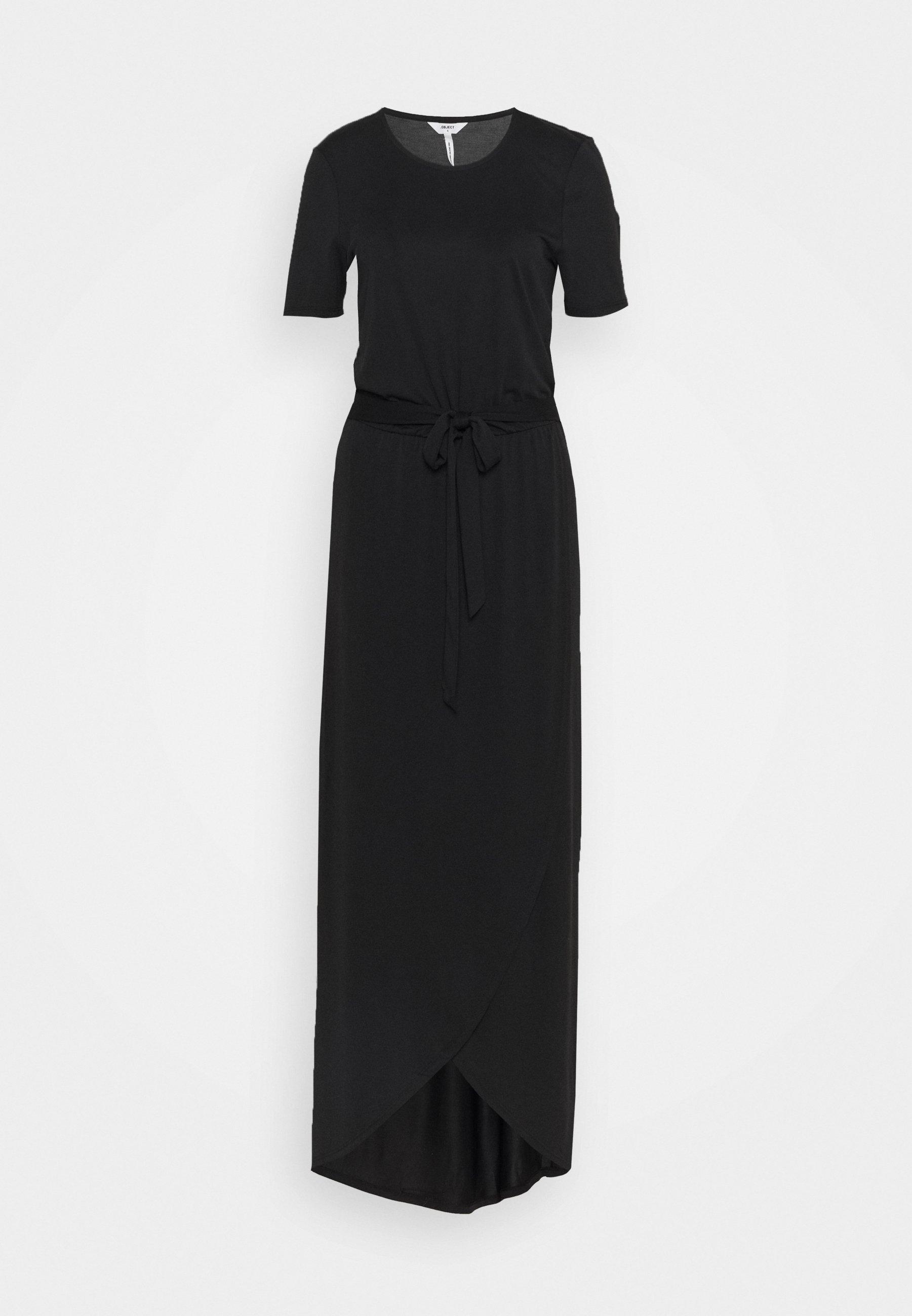 Women OBJANNIE NADIA DRESS TALL - Maxi dress
