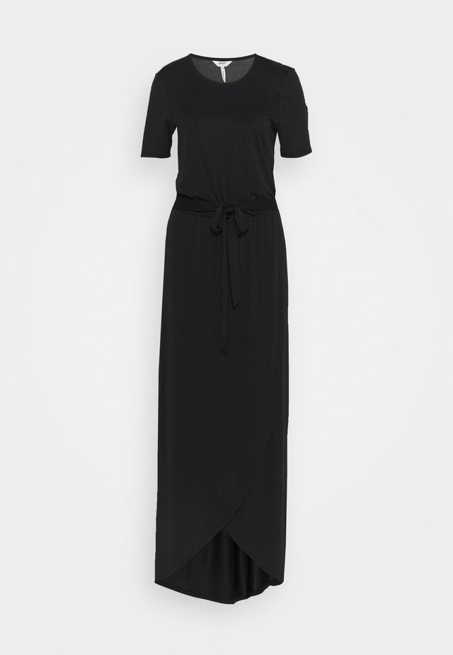 OBJANNIE NADIA DRESS TALL - Maxi-jurk - black