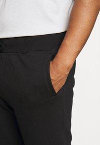 Pier One - 2 PACK - Shorts - black/mottled light grey - 5