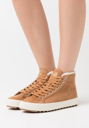 NORDIC  - Sneakers high - light caramel