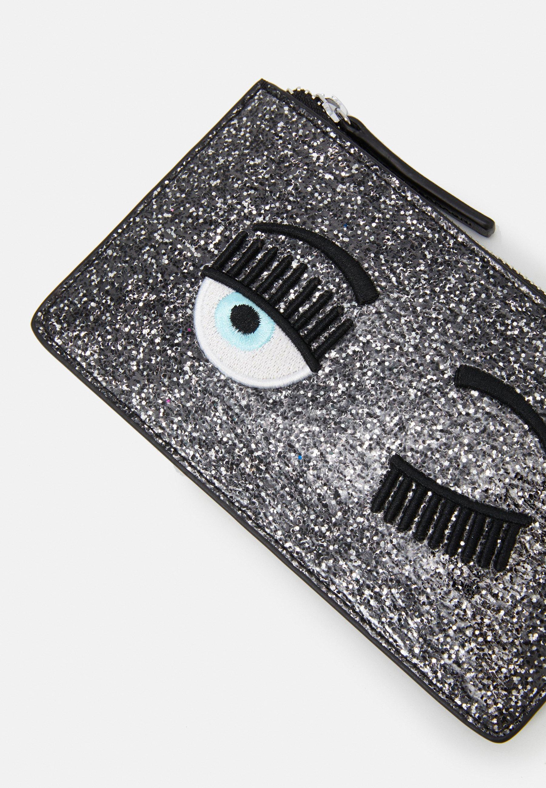 Cheapest Clearance Accessories CHIARA FERRAGNI FLIRTING GLITTER POCHETTE Clutch black N1DbfhARp Vy0HEO9TD