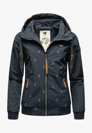 REGENJACKE NUGGIE MARINA W - Outdoor jacket - navy