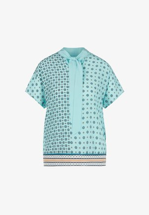 MIT MUSTER  - Print T-shirt - turquoise