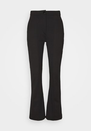 KICKFLARE BITTON UP TROUSER - Bukse - black