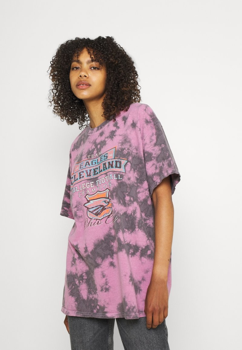 BDG Urban Outfitters - EAGLES DAD TEE - Print T-shirt - multi-coloured