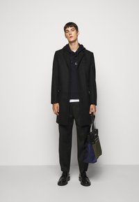 Paul Smith - EMBROIDERED AND PRINTED HOODY - Hoodie - black - 1