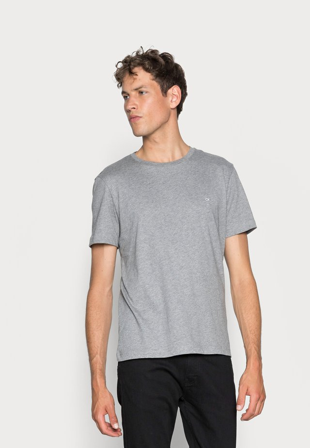 LOGO - T-shirts - mid grey heather