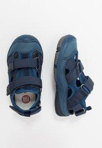 Pax - SAVIOR UNISEX - Walking sandals - navy - 0