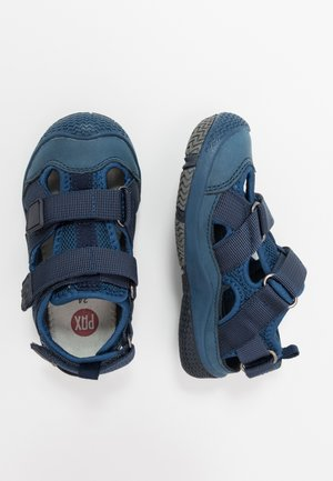 SAVIOR - Walking sandals - navy