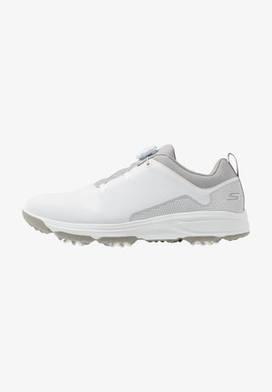 TORQUE TWIST - Golf shoes - white/gray