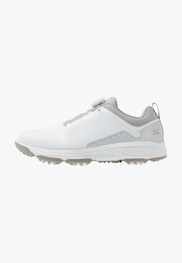 TORQUE TWIST - Chaussures de golf - white/gray