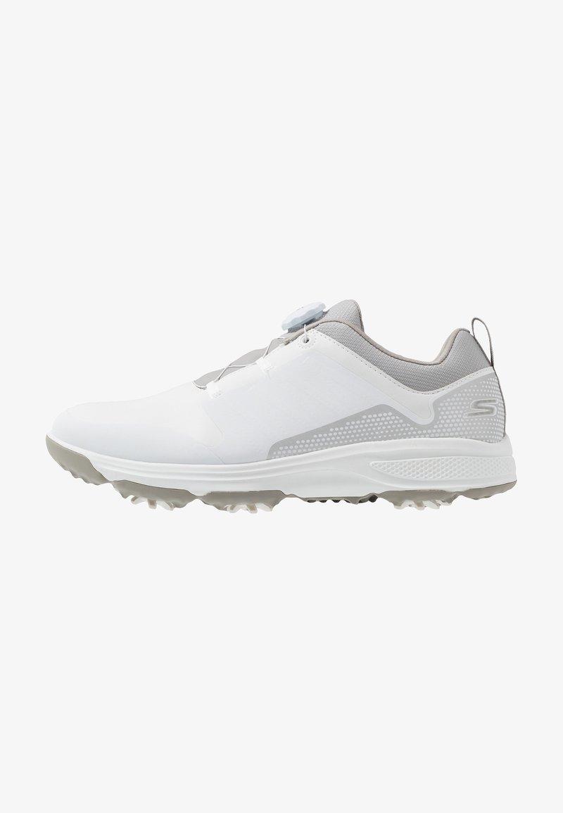 Skechers Performance - TORQUE TWIST - Golfové boty - white/gray