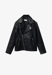 Mango - PERFECTO - Faux leather jacket - schwarz - 0