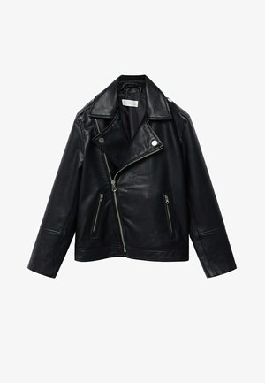 PERFECTO - Faux leather jacket - schwarz
