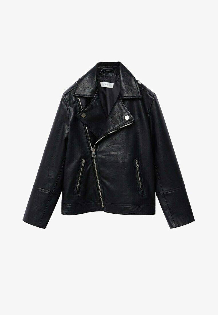 Mango - PERFECTO - Faux leather jacket - schwarz