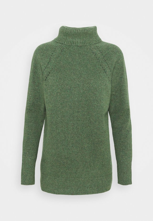 BRUSHED SUPERSOFT - Sweter - olive