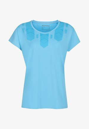 TROVAT - Print T-shirt - blue