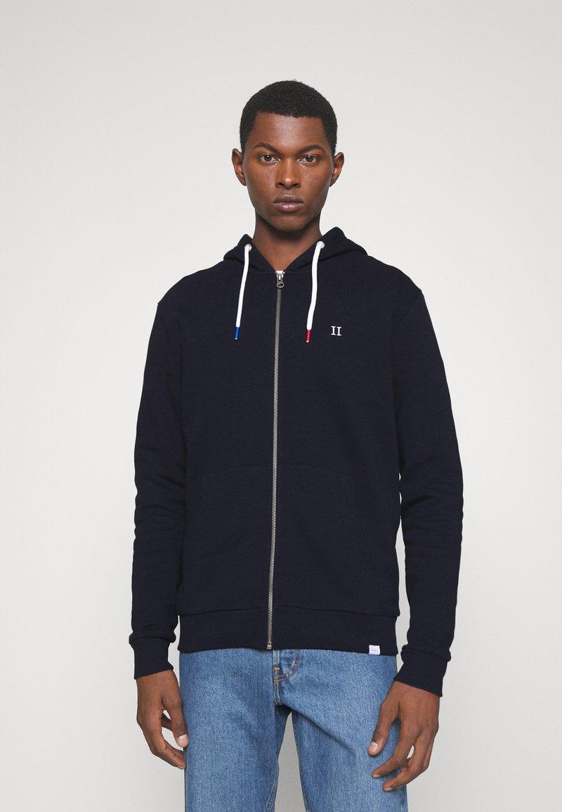 Les Deux - FRENCH ZIPPER HOODIE - Zip-up hoodie - navy