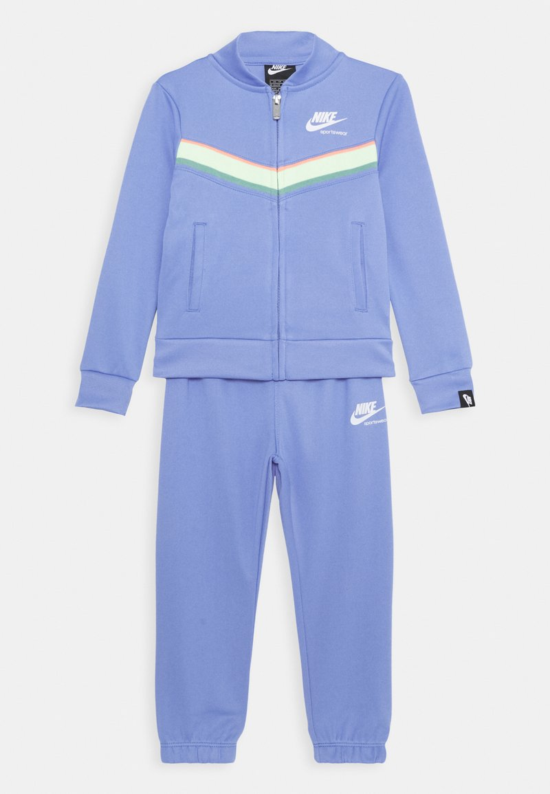 Nike Sportswear - HERITAGE SET - Survêtement - royal pulse
