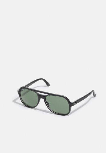 Sunglasses - black trasparent black