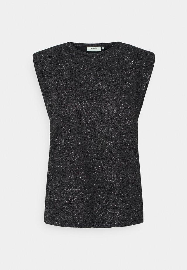 IMMA - T-shirt imprimé - black