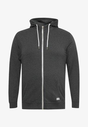 BT TAMBO - Zip-up sweatshirt - dark grey melange