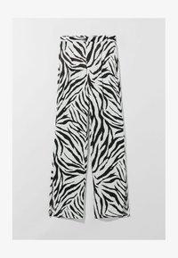 Bershka - Pantalon classique - white - 4