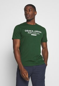 Pier One - OSAKA TEE - Print T-shirt - green - 0